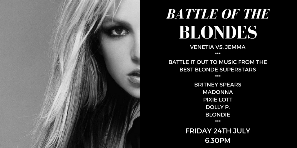 UPDATE: Battle of the Blondes