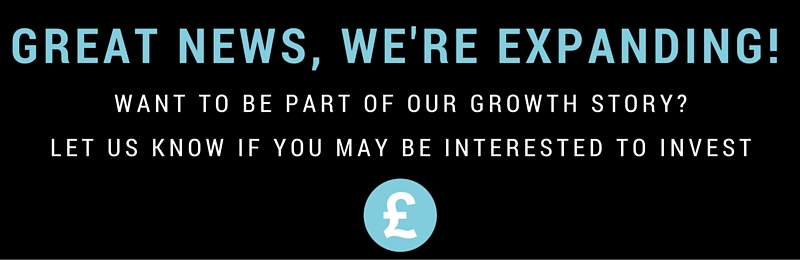 Great news, we're expanding!