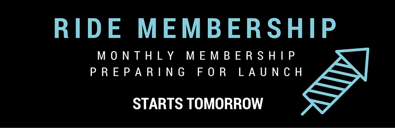 Membership: Launching tomorrow!