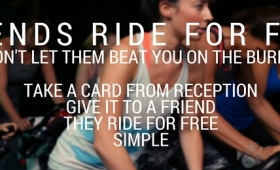 Friends Ride for free