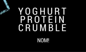 Top Tip: Yoghurt protein crumble