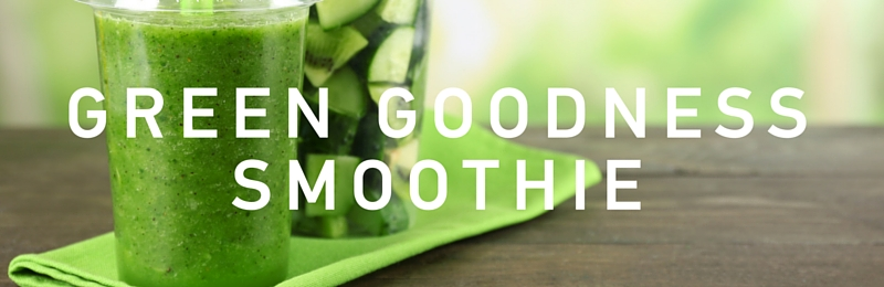 Top Tip: Green goodness smoothie
