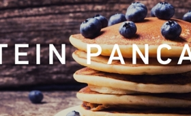 New Year's Day protein pancakes