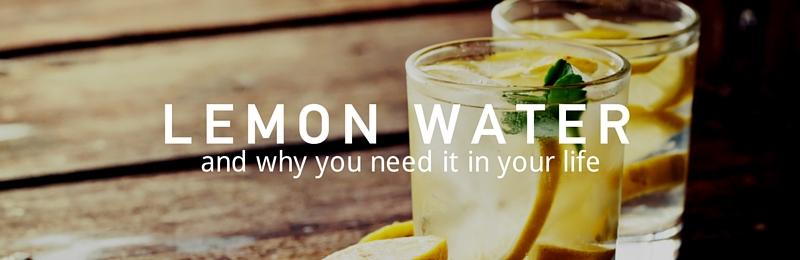 Top Tip: Lemon Water