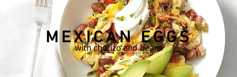 Recipe: Mexican eggs with chorizo and beans