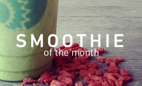 Smoothie of the Month – and coffee coming soon!