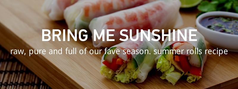 Recipe: Summer Rolls