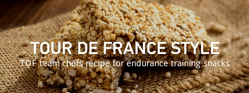 Energy Rice Cakes. From the Tour de France chefs, to your fridge.