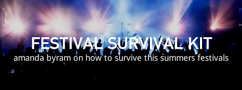Amanda Byram's Healthy Festival Survival Tips