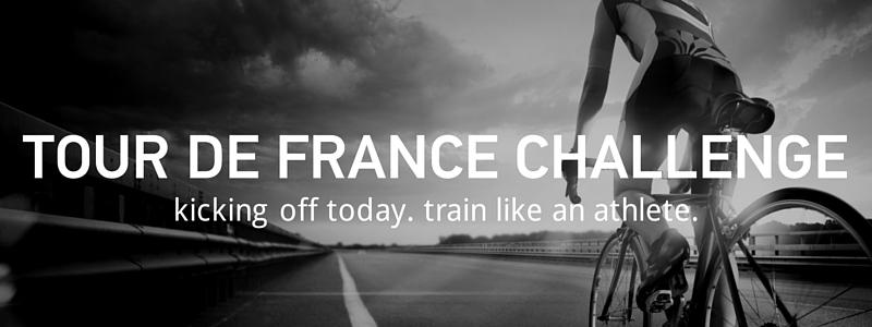 The Tour De France Challenge.  Starts Now.