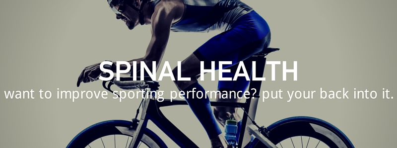 How Spinal Health Effects Athletic Performance