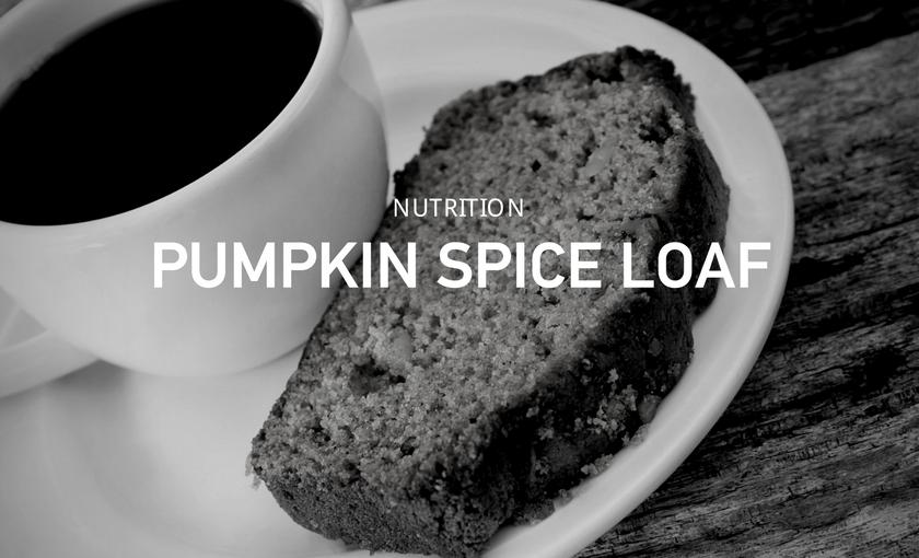 Protein Pumpkin Spice Loaf