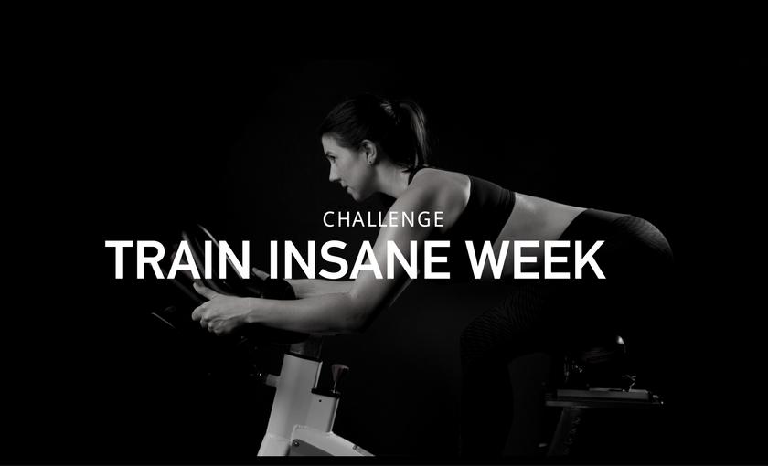 It's back: Train Insane Week