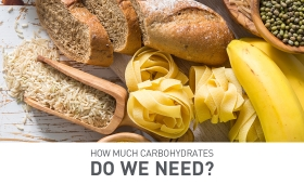 How much carbohydrates do we need?
