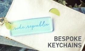 RIDE REPUBLIC BESPOKE KEYCHAINS FOR SALE