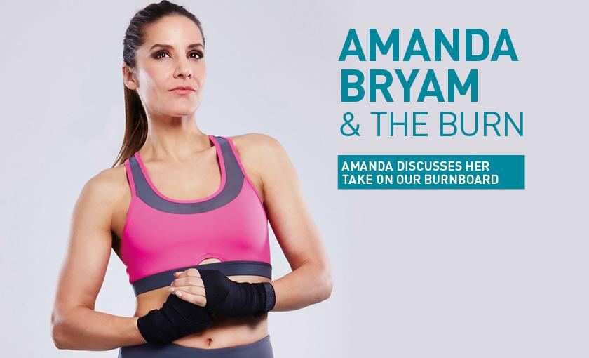 Amanda Byram & the BURN
