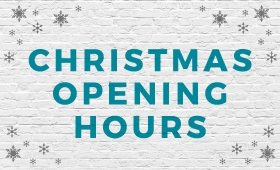 DECEMBER OPENING HOURS