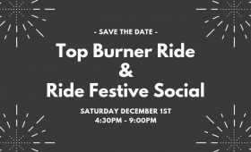 TOP BURNER RIDE & RIDER SOCIAL 2018