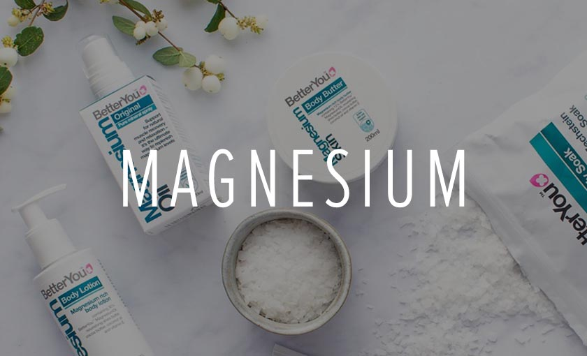 Magnesium for better sleep and less stress