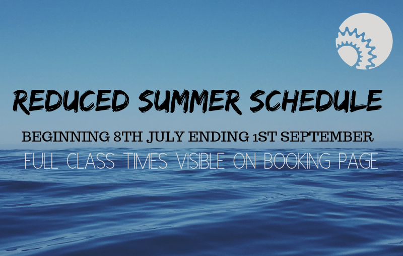 Reduced Summer Schedule
